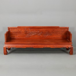 Burma Ming Chinese pear Burma padauk FLOWER HORN sofa,Solid wood sofa