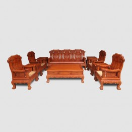 Burma padauk classical Chinese rosewood sofa,Solid wood chair