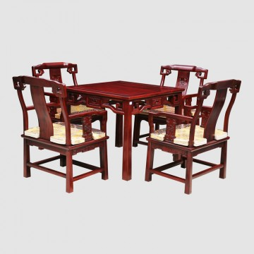 African rosewood tea table, tea table, wooden table, wooden table and chairs packages