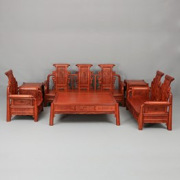 Padauk rosewood sofa,Solid wood sofa