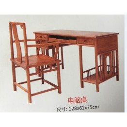 Mahogany furniture, solid wood, luxury, Ming and Qing Dynasties, antique, rosewood, computer desk, desk, desk